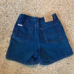 Vintage High Waist Zena Mom Jean Shorts
